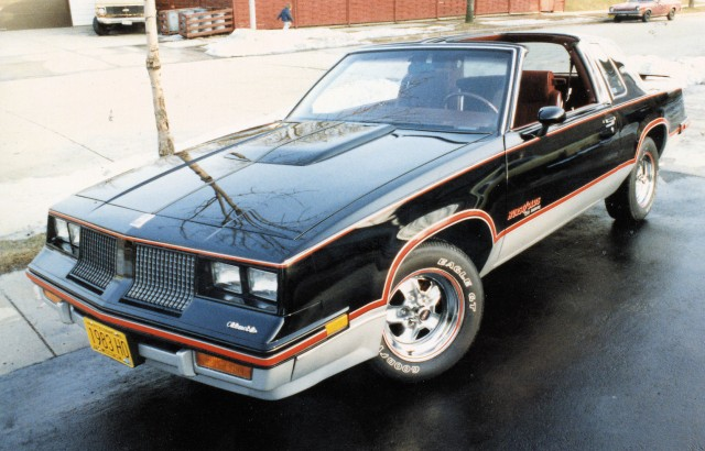 1983 Oldsmobile Cutlass Hurst/Olds on the street