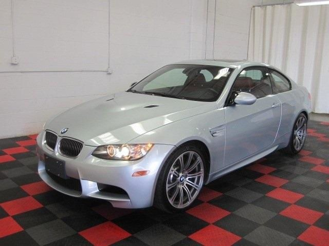 Silver 2009 BMW M3 coupe