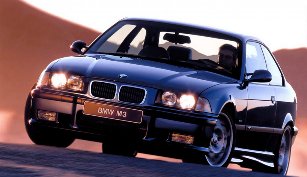 Since its launch in 1995, the E36 BMW M3 has been a favorite among aftermarket tuners but I prefer bone stock models like this one in Grey.