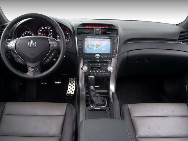 Forward View Of A 2008 Acura TL Type S Interior