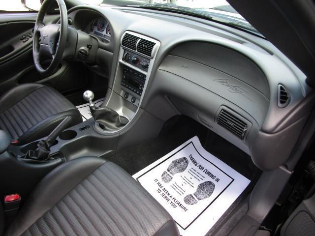 2003 Ford Mustang Mach 1 interior