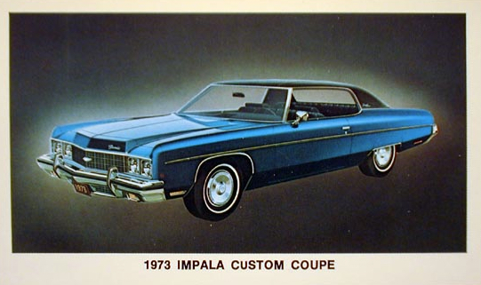 1973 Impala Custom Coupe