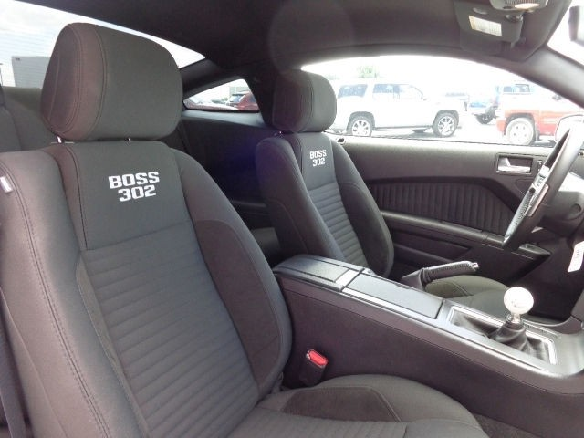 2013 Ford Mustang Boss 302 interior