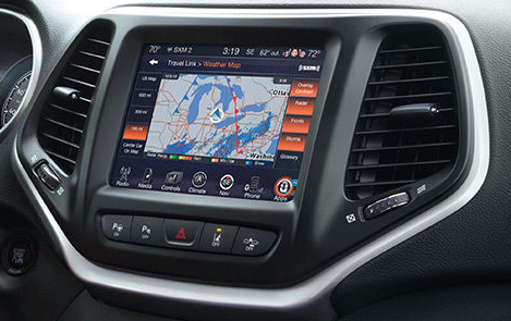 2016 Jeep Cherokee UConnect 8.4
