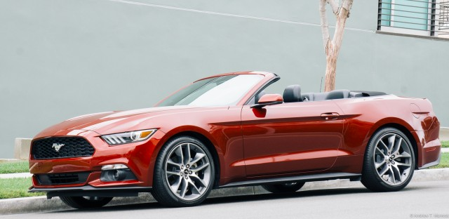 2016 Ford Mustang convertible