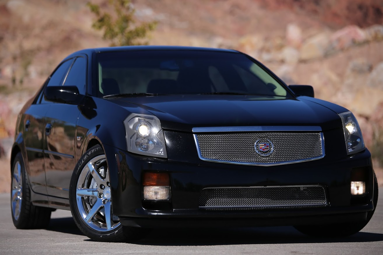 underrated ride of the week 2004 2007 cadillac cts v the autotempest blog. Black Bedroom Furniture Sets. Home Design Ideas