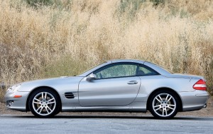 2007 Mercedes Benz SL550