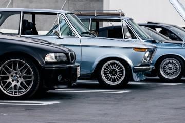 BMW M3 and 2002