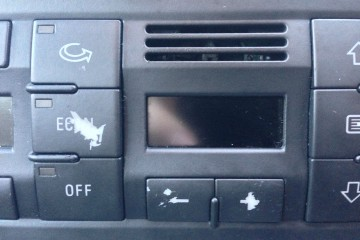 Audi center console buttons damaged